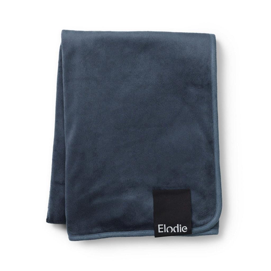 Pärlsammetsfilt - Juniper Blue