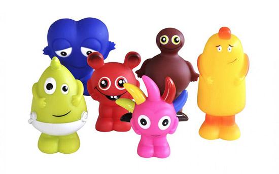 Babblarna plastfigurer